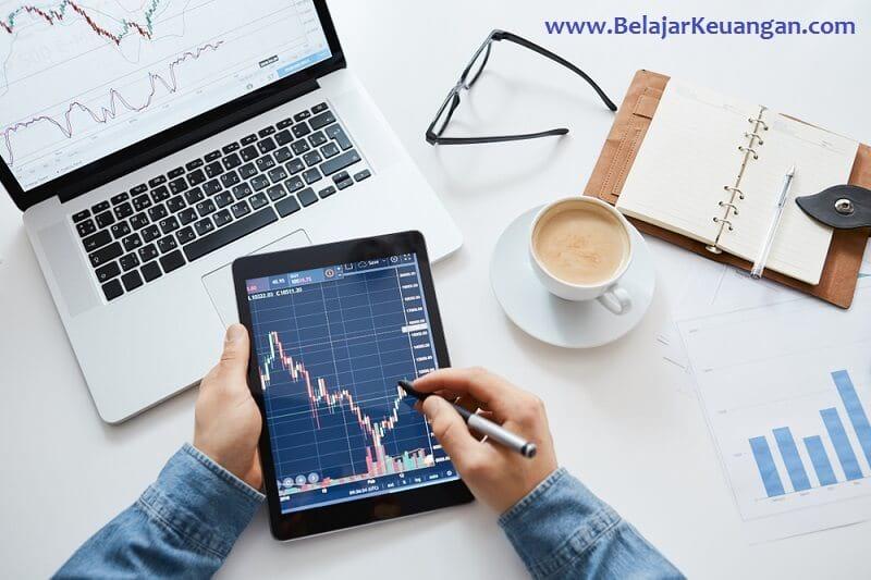 cara trading saham harian